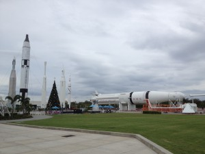 Rocket Garden at the Kennedy Space Center Visitor Complex